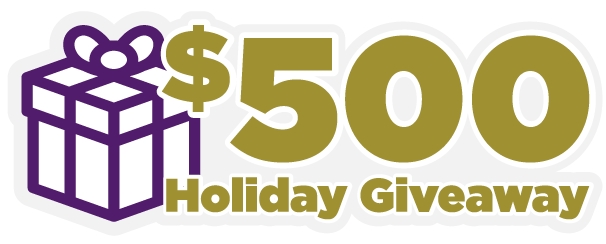$500 Holiday Giveaway