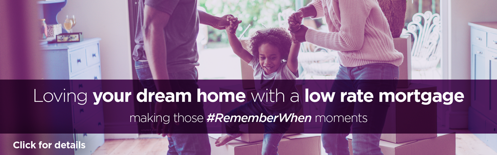 Love your dream home with a low rate mortgage.
