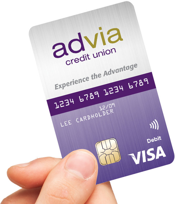 Advia Debit Card